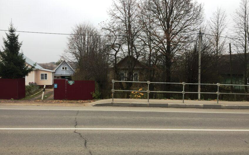 Дом в Можайске, 50 кв.м. д. Ильинская Слобода, 10 соток, газ по границе.
