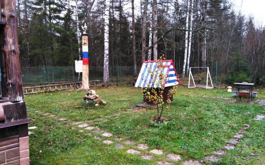 Зимняя дача-баня 50 кв. м, 4 сотки, 85 км от МКАД, запад.
