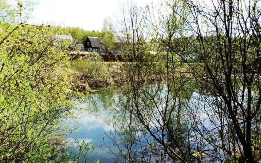 Участок 6 соток в старом СНТ на берегу реки Искона, д. Бурцево