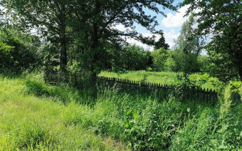 Участок рядом с рекой-Москвой, в середине старой деревне.