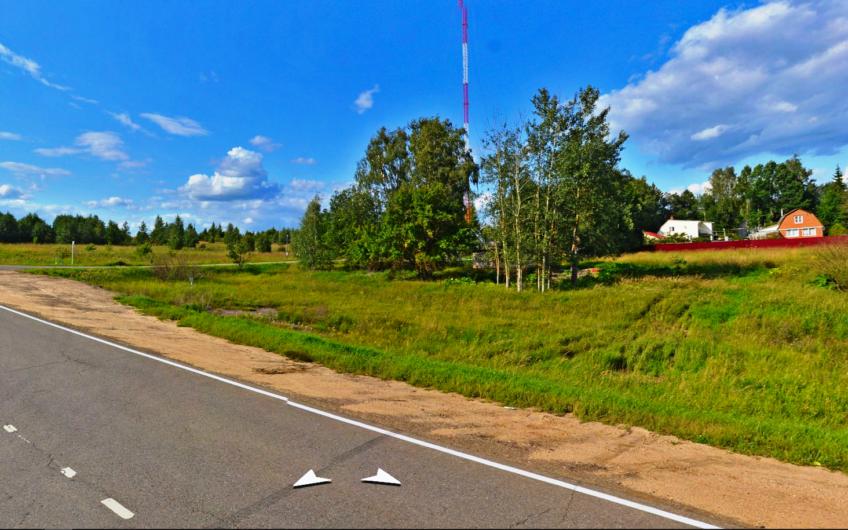 Участок 8 сот в СНТ, рядом с ВДХР, 120 км от МКАД, запад.