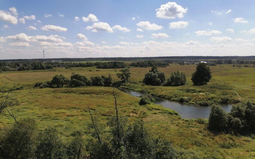 Участок 8 Гектар на берегу реки Протва, 120 км от МКАД, запад.