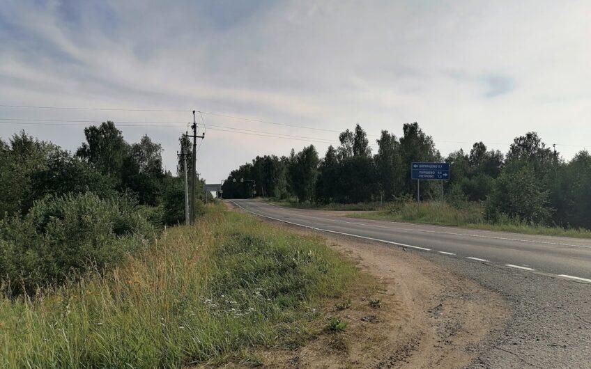 Кирпичная дача в 99 км от МКАД, 8 соток.